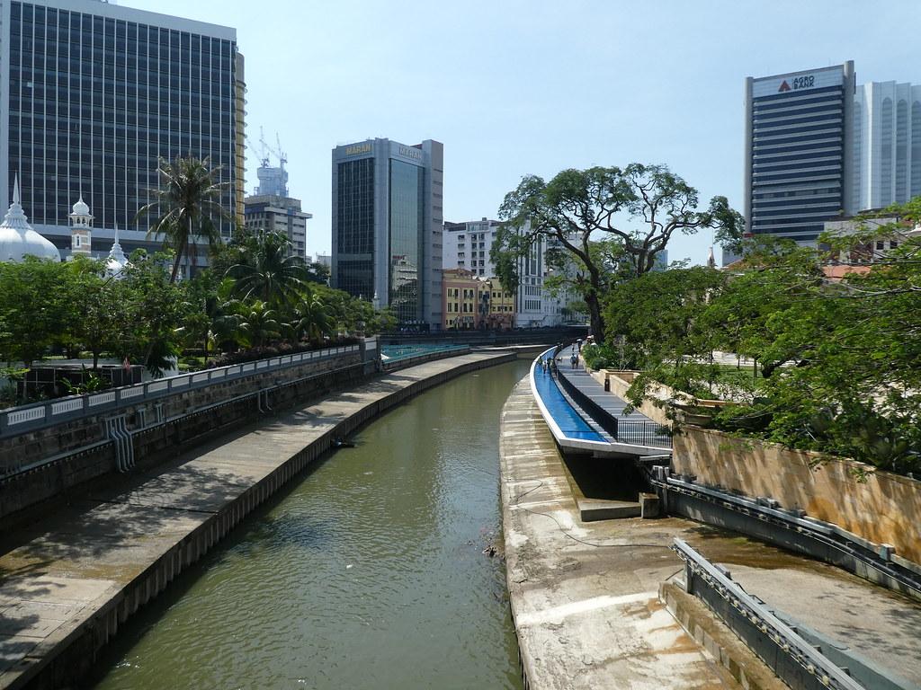 River of Life boardwalk, Kuala Lumpur