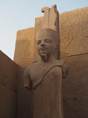 Statue of Pharaoh, Karnak