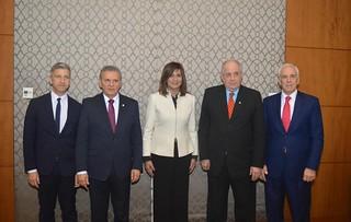 Συμμετοχή Υφυπουργού Εξωτερικών, Τέρενς Κουίκ στην Τριμερή συνάντηση Ελλάδος-Κύπρου-Αιγύπτου (Κάιρο, 10.01.2018)