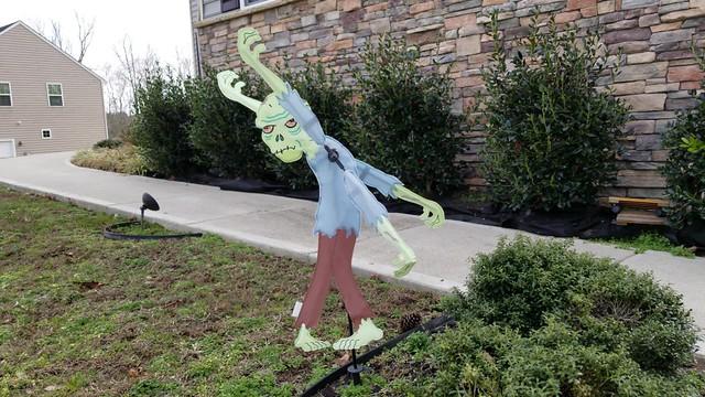 Zombie Wind Decoration