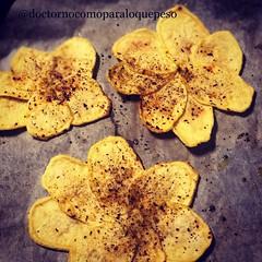 Os animáis con unas flores de patata? Son muy fáciles y quedan muy ricas!! #delicious #querico #nutricion #delamataoelbicho #dietopuntos #comidadeverdad #alimentaciónsaludable