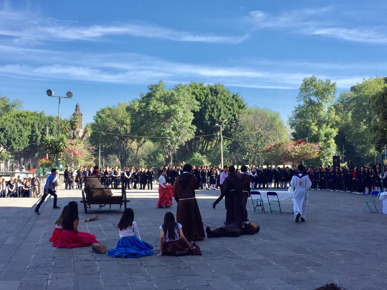 Ceremonia Febrero 22