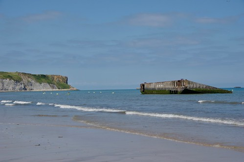A Remaining Caisson from the Mulberry Harbour | by Dave Hamster