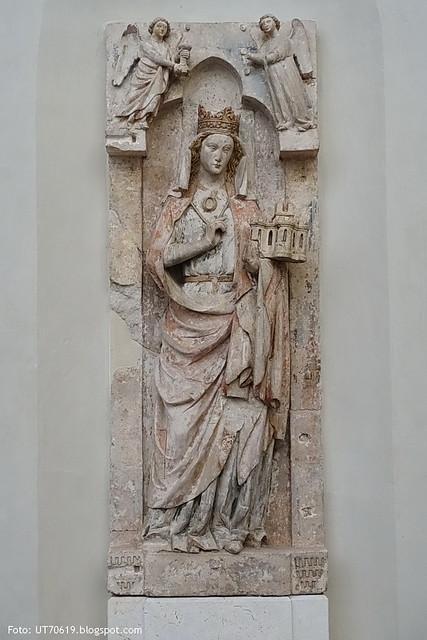 St. Maria im Kapitol Epitaph der Plektrudis