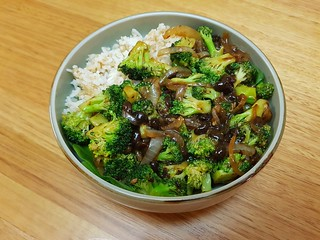 Broccoli with Fermented Black Bean Sauce