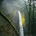 The head and neck of the shoulder season waterfall by Zeb Andrews