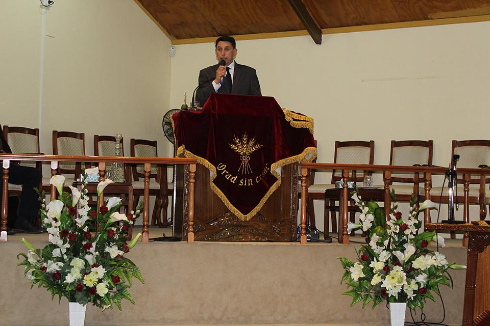Visita de bendición del Coro de Penco a Iglesia de Hualpén