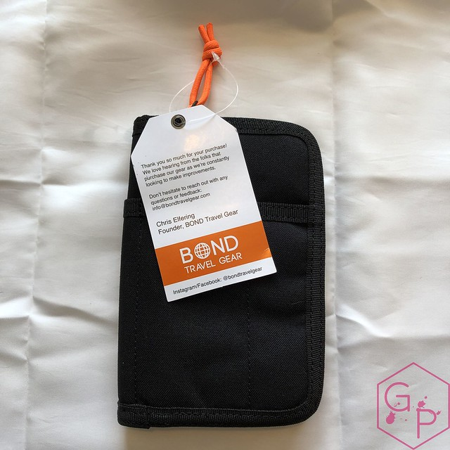 Bond Travel Gear Wallet & Field Journal & Tomoe River Notebooks Review 2