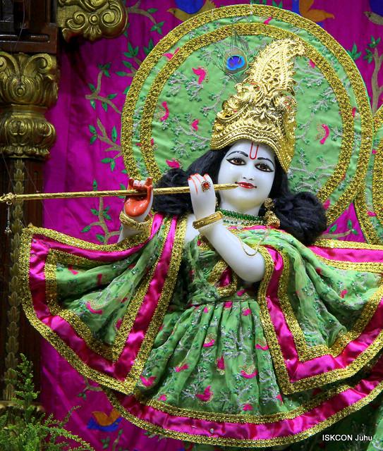 ISKCON Juhu Magal Deity Darshan on 2nd Apr 2019