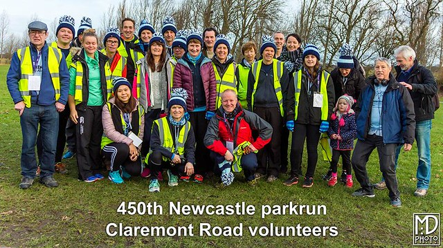 Newcastle parkrun, 26th January 2019