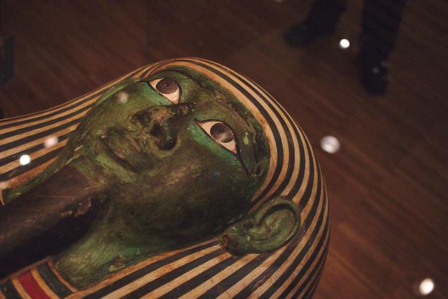 Cartonnage de sarcophage