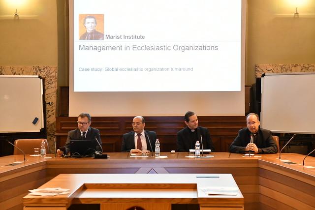 Workshop su sfide manageriali e gestionali nel governo di Università, Atenei e Istituti pontifici
