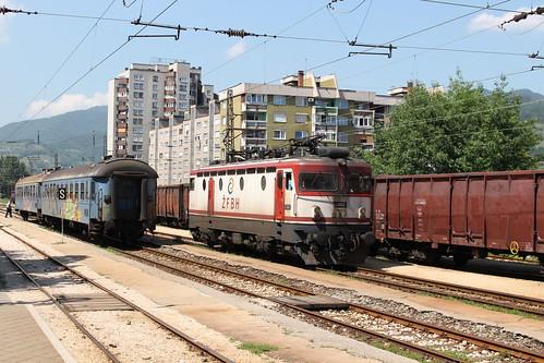 zfbh zeljenicefederacijebosneihercegovine train e52512