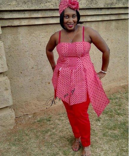 Shweshwe fashion styles still unique 2019