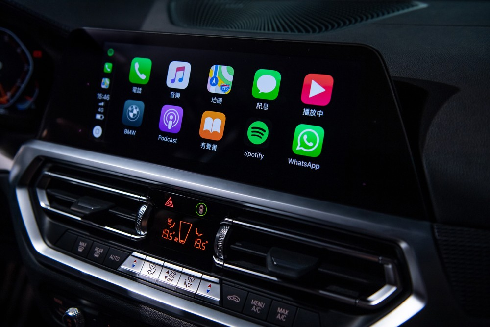 [新聞照片九] 全新世代BMW 3系列配備領先業界的無線Apple CarPlay