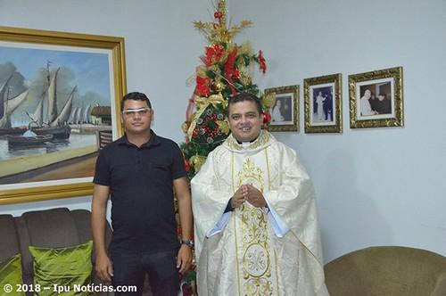 Celebração e homenagens pelo primeiro ano de sacerdócio do padre Fábio Barbosa