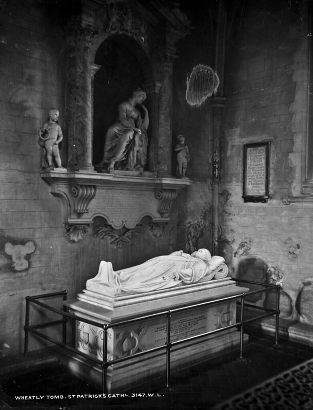 The Wheatly Tomb, St. Patricks Cathedral, Dublin