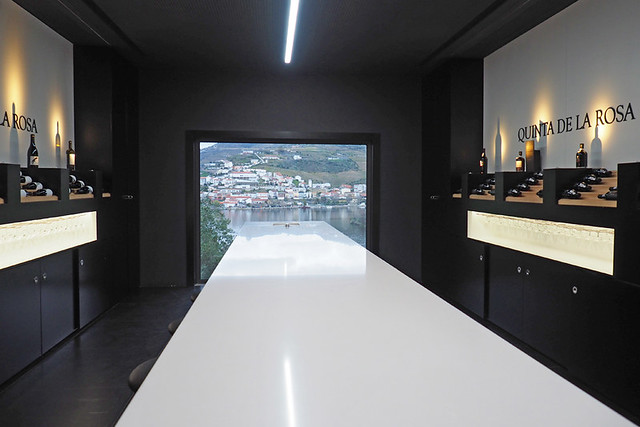 Reception and tasting room, Quinta de la Rosa, Douro Valley, Portugal