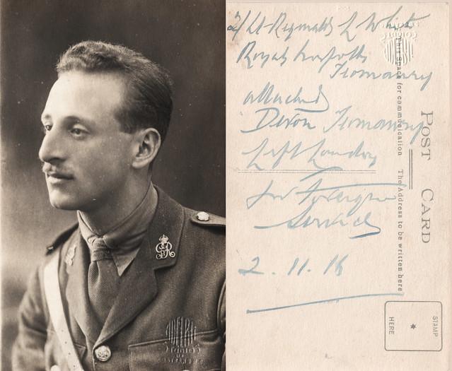Army studio photograph 2 November 1916