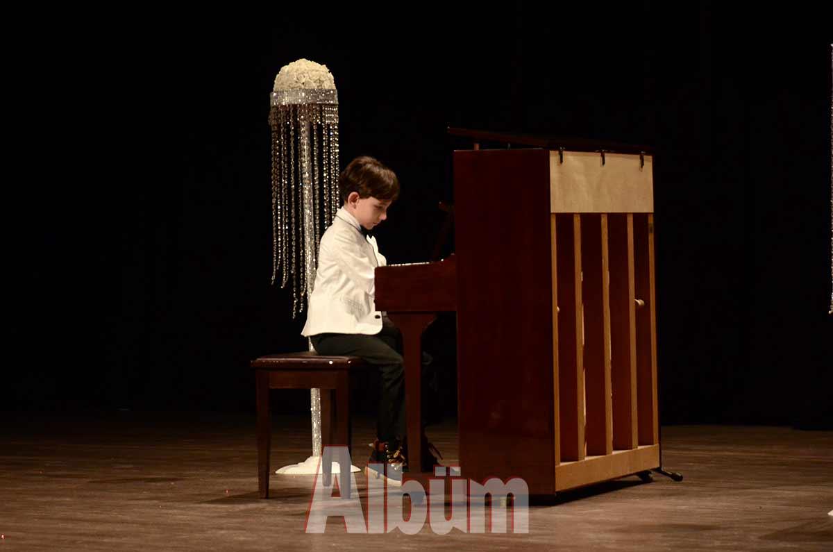 Piyano resitali düzenlendi