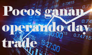 El 90% pierde en day trade. Según estudio en Brasil.