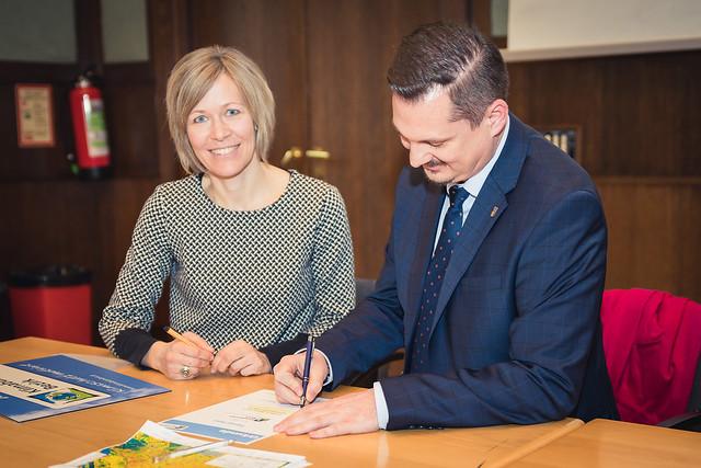 Beitrittsfeier Klimabündnis-Bezirk Wien-Favoriten