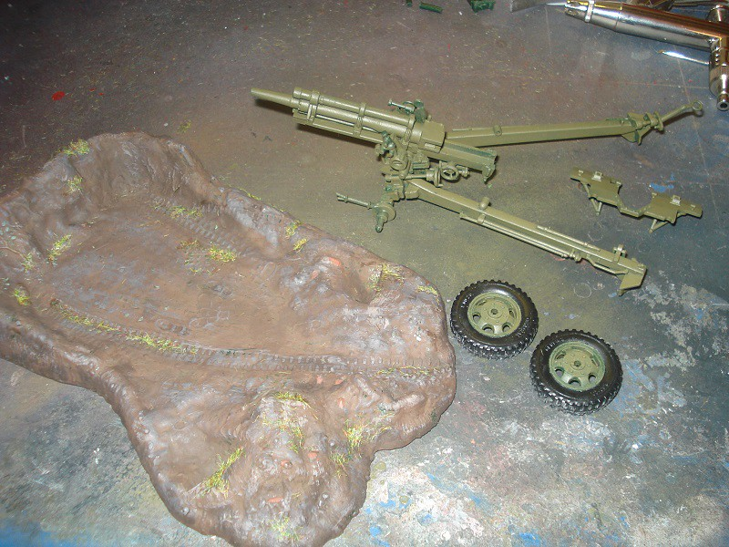 105 mm Howitzer - Revell 50-års jubileums utgåva 31823901067_5547768a7c_b