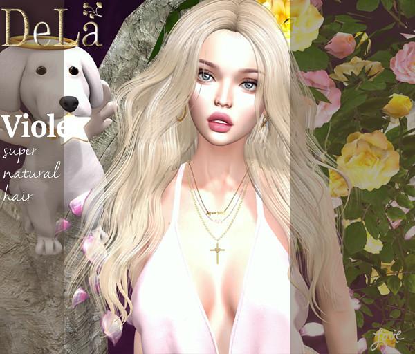 """=DeLa*= new hair """"Violet"""""""