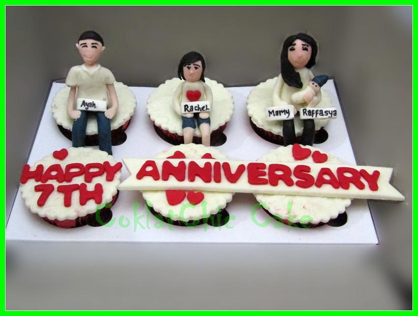 Cupcake set Anniversary