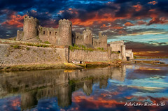 Conwy Castle Sunset