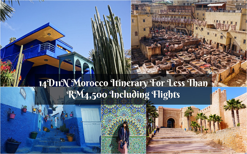 14D11N Morocco Trip Cover