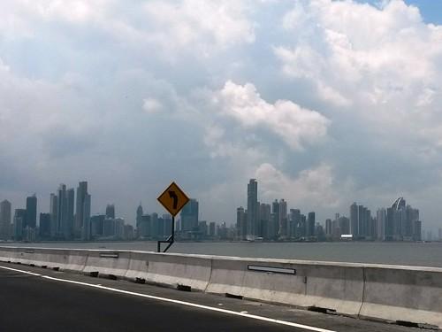 Fahrt nach Panama City