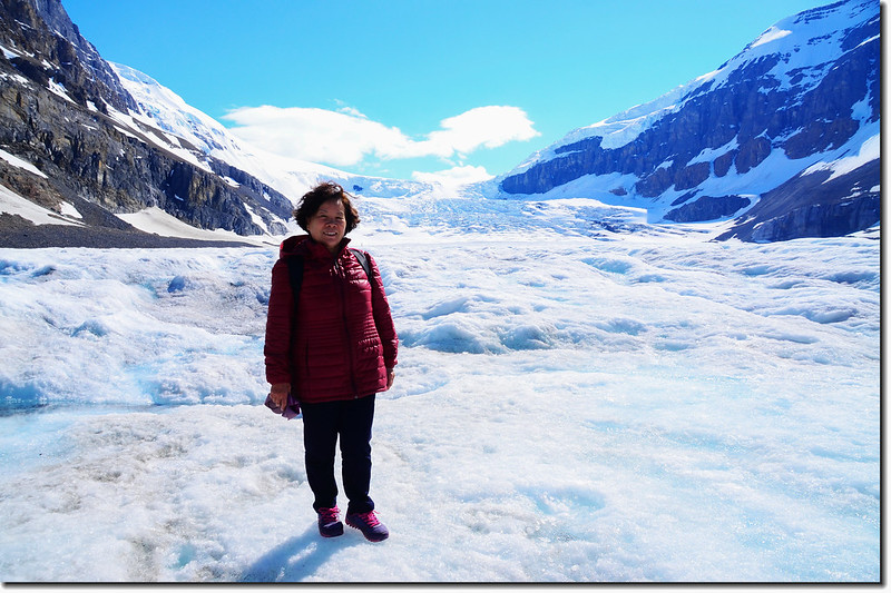 On Athabasca Glacier (3)
