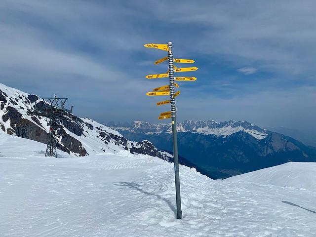 Pizol Skifahren 2019