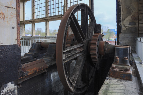 Ancien site minier du Martinet, Charleroi 6 april 2019