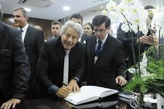 Posse do senador Luiz Carlos do Carmo