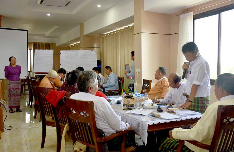 Fiscal Federalism Workshop with MPs and officials of Kachin State Hluttaw