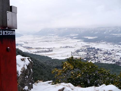 Grössenberg: Ausblick zu (Outlook to) Hohe Wand