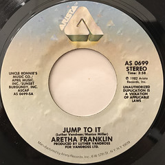 ARETHA FRANKLIN:JUMP TO IT(LABEL SIDE-A)