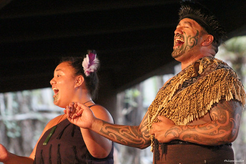 Chanteurs maoris