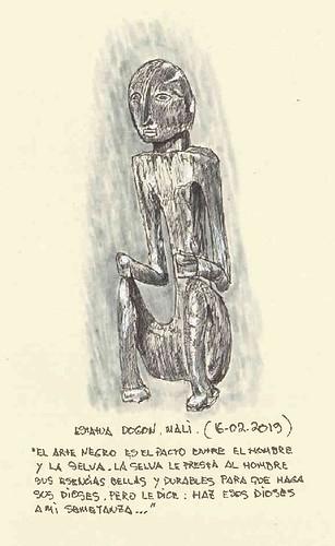 Estatua Dogon. Mali