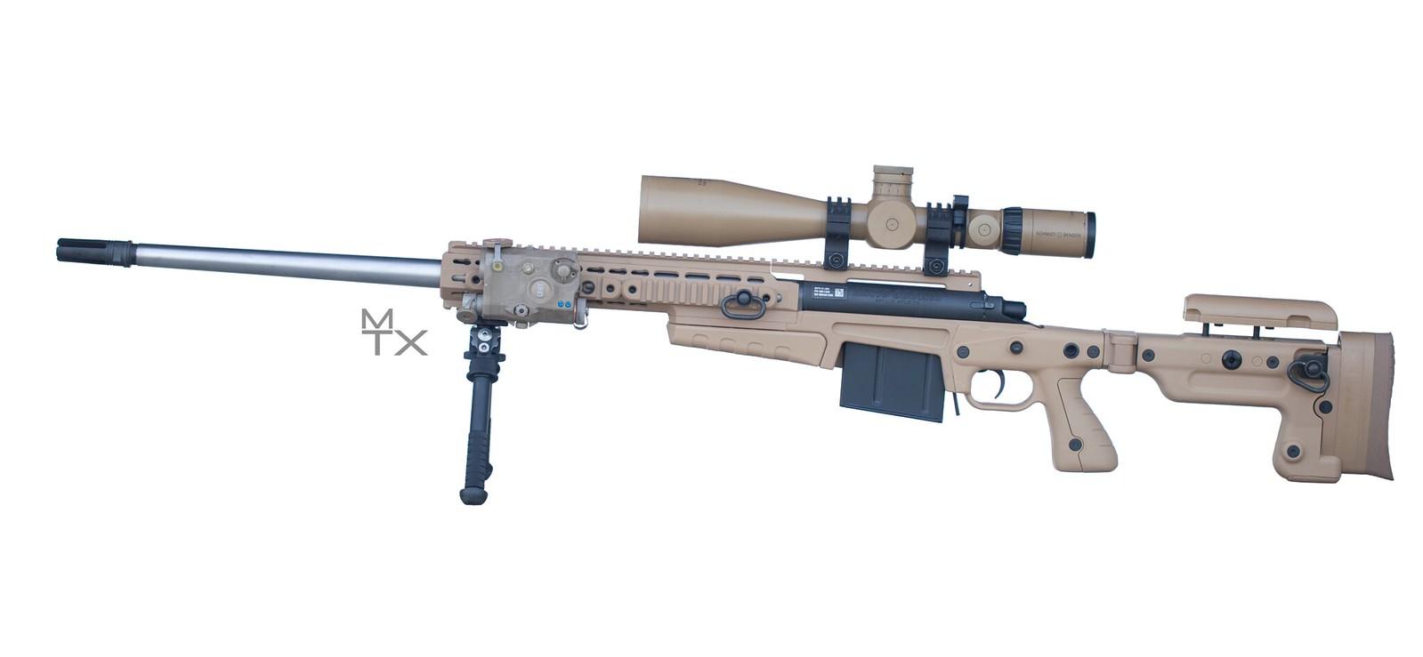The Mk13 Mod 5 rifle Navy issue 300 Win Mag Guns Guns