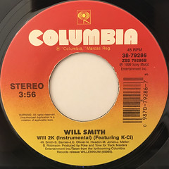 WILL SMITH:WILL 2K(LABEL SIDE-B)