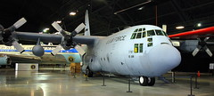 Lockheed C-130E Hercules, National Museum of the US Air Force, Dayton, Ohio, USA.