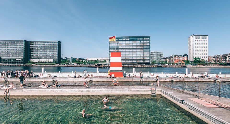 Zwemmen in Kopenhagen, Islands Brygge | Mooistestedentrips.nl