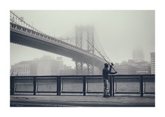 fisherman along the East River