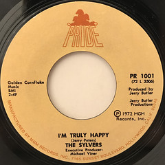 THE SYLVERS:FOOL'S PARADISE(LABEL SIDE-B)