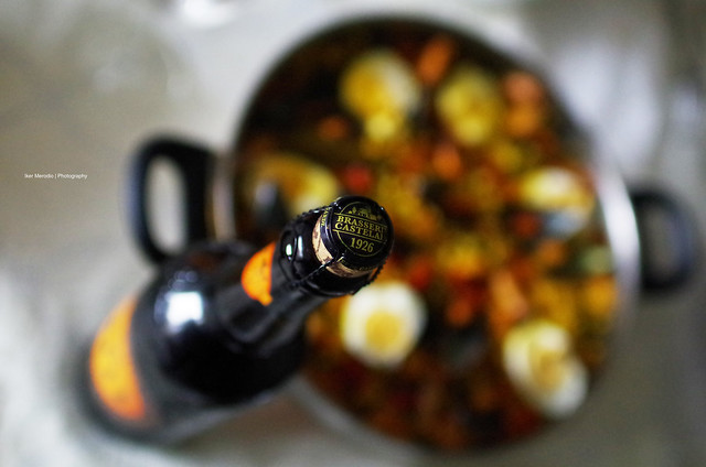 Ch'ti Beer and Home Made Paella