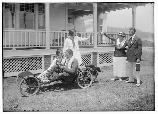 Byron and others (small racer) (LOC)
