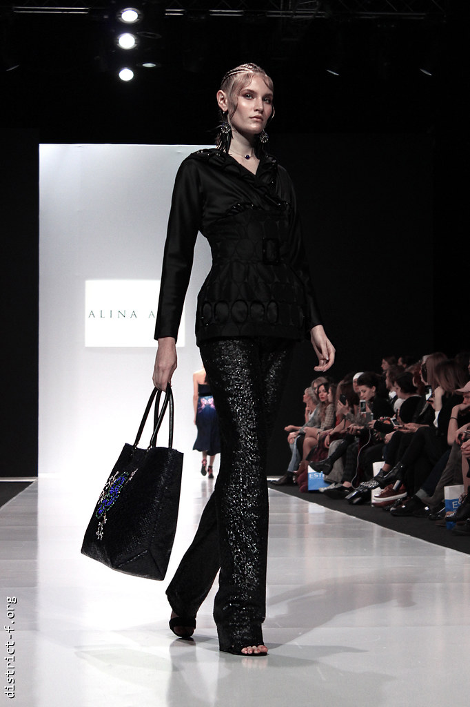 DISTRICT F - MFW SS18 - MOSCOW FASHION WEEK - ALINA ASSI кенг